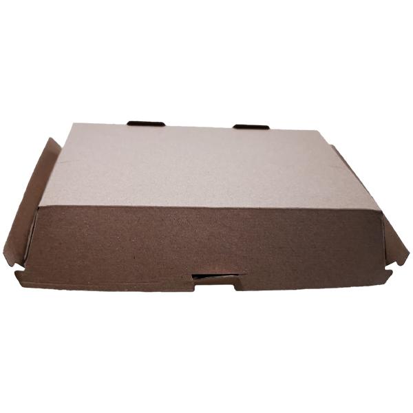 BROWN KRAFT HB10 BURGER & CHIPS BOX 1 x 200 L 193mm  x D 110mm x H 80mm