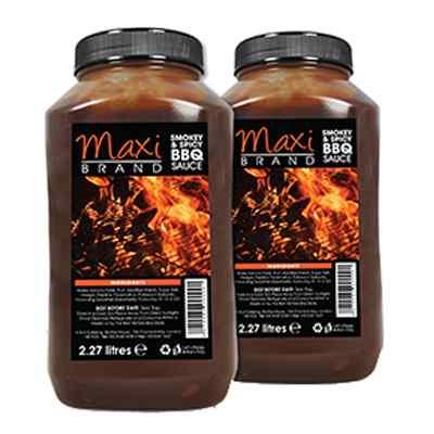MAXI BRAND BBQ SAUCE 2x2.27lt