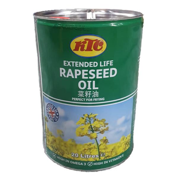 EXTENDED LIFE KTC RAPESEED OIL TIN 1x20l