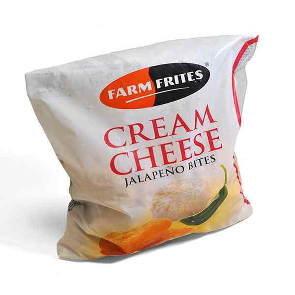 FARMFRITES CREAM CHEESE JALAPENO BITES 1kg