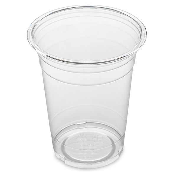 10oz ( 295ml ) CLEAR SMOOTHIE PET CUPS 20x50
