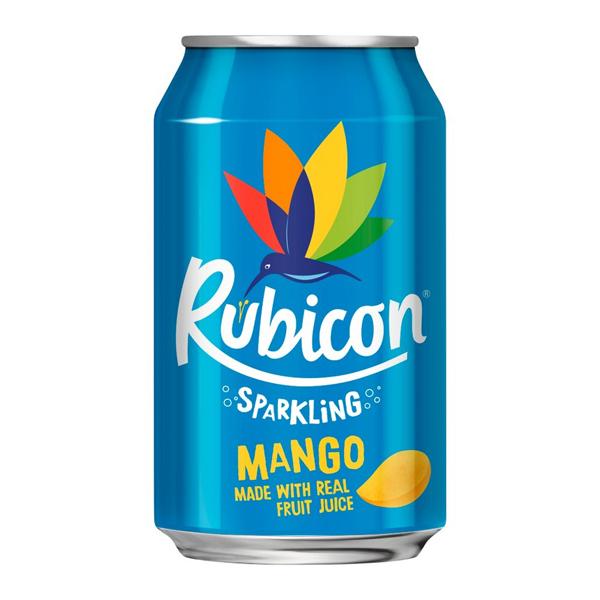 RUBICON SPARKLING CANS MANGO  24x330ml