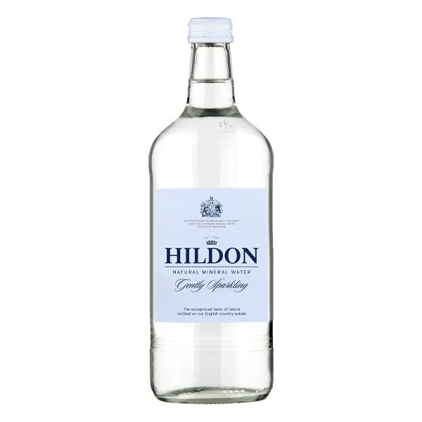 HILDON SPARKLING GLASS  BOTTLE WATER 12x750ml