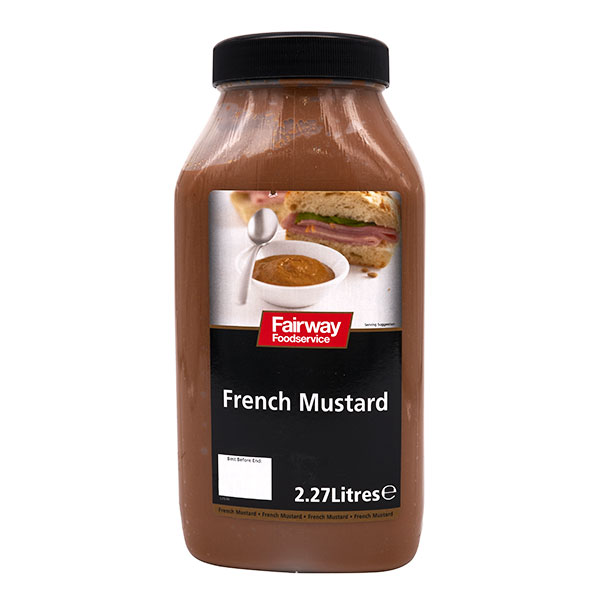 FAIRWAY BRAND  FRENCH MUSTARD  2x2.5lt