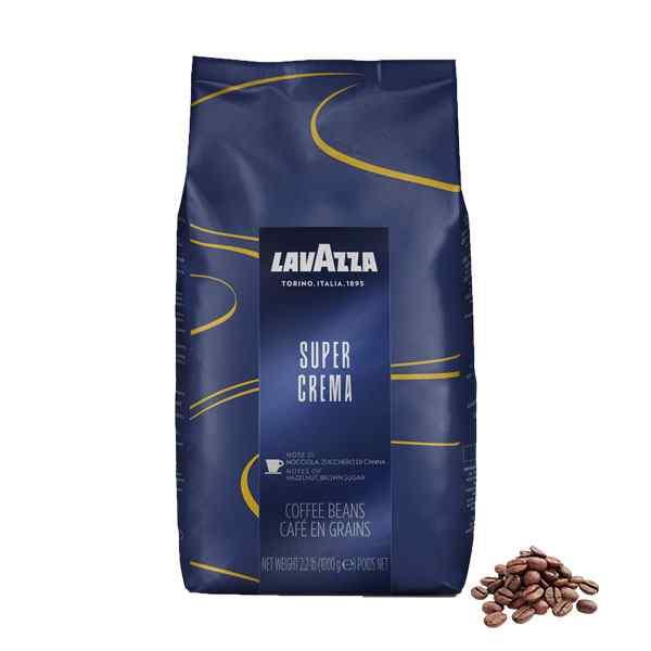 SINGLE BAG OF LAVAZZA SUPER CREAMA 1kg