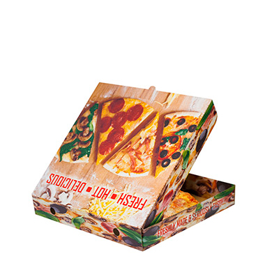 """9"""" FRESH HOT SLICES  PIZZA BOX  1x100"""