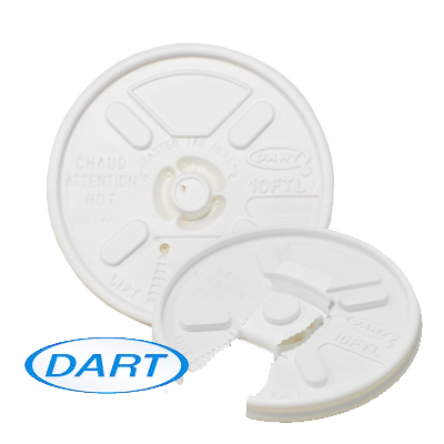 WHITE LIFT 'n' LOCK 12oz HOT LIDS 1000's 12FTL Suitable lids are GIA033 & GIA032