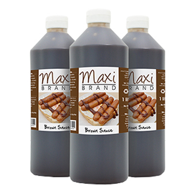 MAXI SQUEEZY BROWN SAUCE  6x1lt