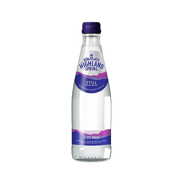 HIGHLAND WATER GLASS ( STILL )  24x330ml