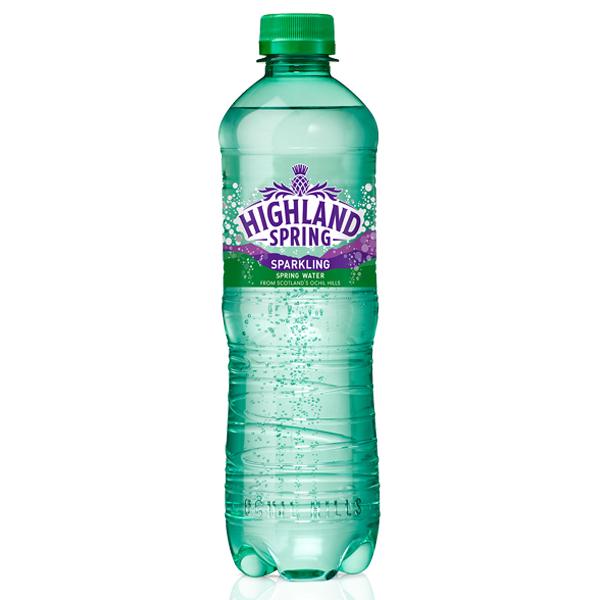 HIGHLAND SPRING SPARKLING WATER PET  12x1.5lt
