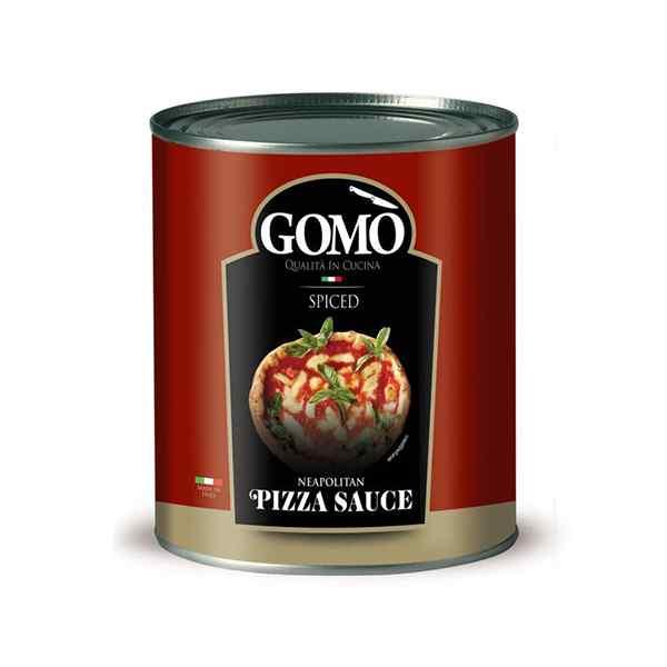 GOMO NEAPOLITAN SPICED PIZZA SAUCE  6x2.55kg