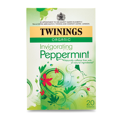 TWININGS PEPPERMINT ENVELOPES 1x20