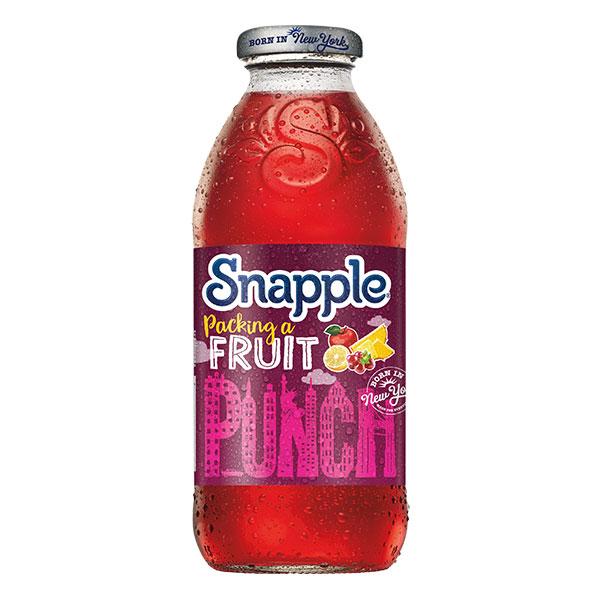 SNAPPLE FRUIT PUNCH  12x473ml