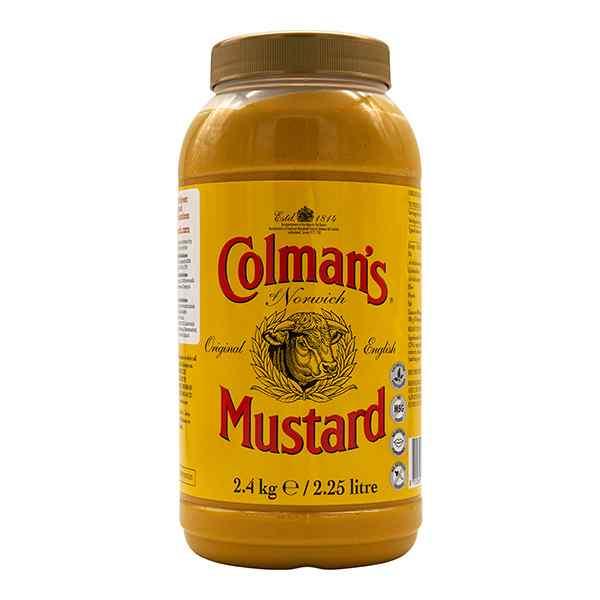 COLMAN'S ENGLISH MUSTARD  1x2.25lt