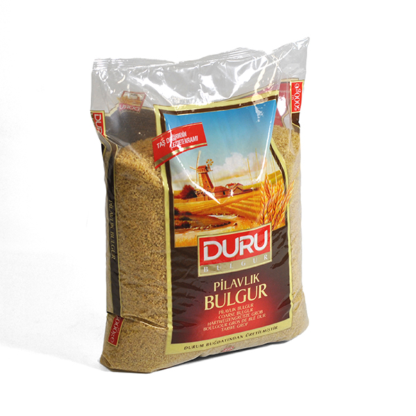 DURU BULGUR PILAVLIK ( COARSE )  5kg