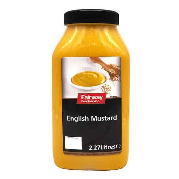 FAIRWAY ENGLISH MUSTARD  2x2.2L