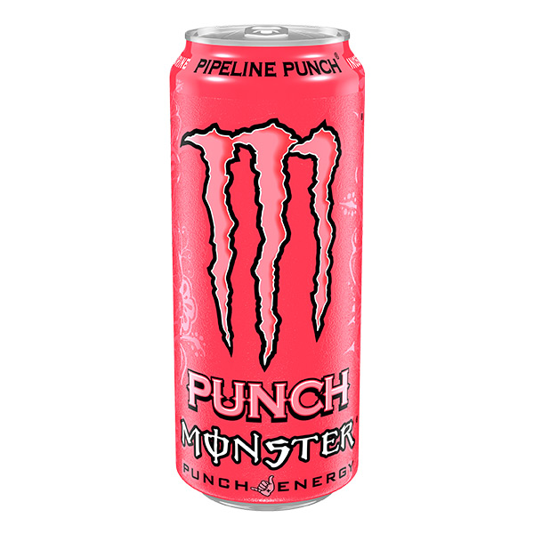 MONSTER PIPELINE PUNCH  (CAN) 12 x 500ML