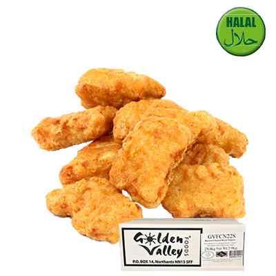 GOLDEN VALLEY CHICKEN BREAST NUGGETS