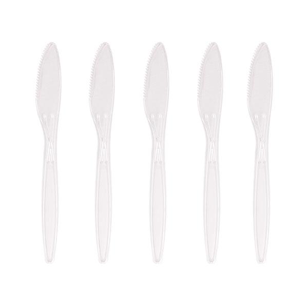 CLEAR PLASTIC HEAVY DUTY KNIVES 40x50 81301