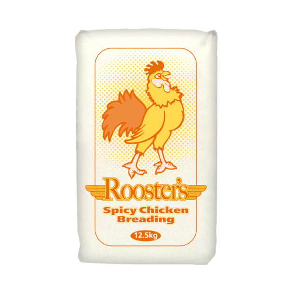 ROOSTERS SPICY BREADING  1x12.5kg