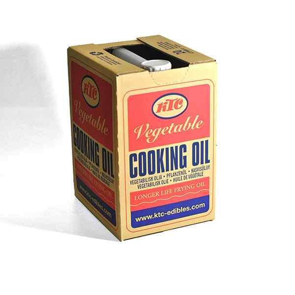 BOXED KTC VEGETABLE OIL 1x20lt