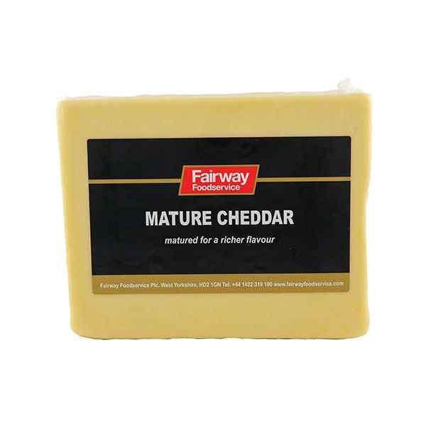 2.5kg FAIRWAY BLOCK WHITE MATURE CHEDDAR