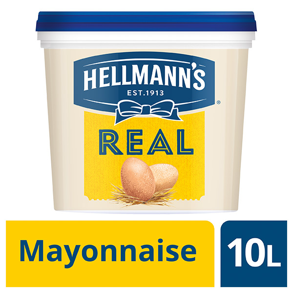 HELLMANN'S REAL MAYONNAISE 1x10lt