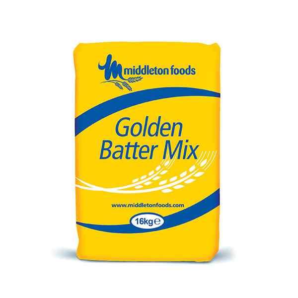 MIDDLETON FOODS GOLDEN  BATTER MIX 1x16kg