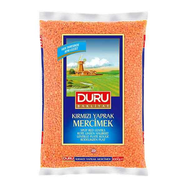 DURU ROUND RED ( KIRMIZI MERCIMEK) LENTIL 1kg