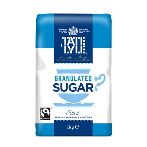 SINGLE BAG OF GRANULATED SUGAR 1kg