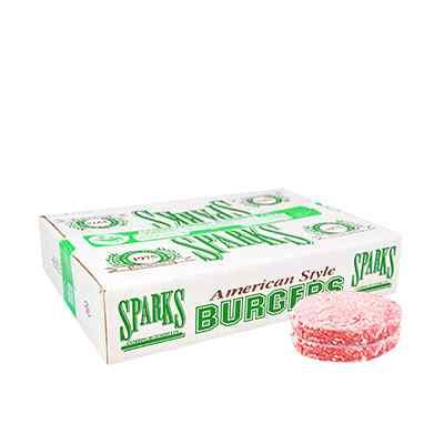 SPARKS BURGERS 48 x 56 gm