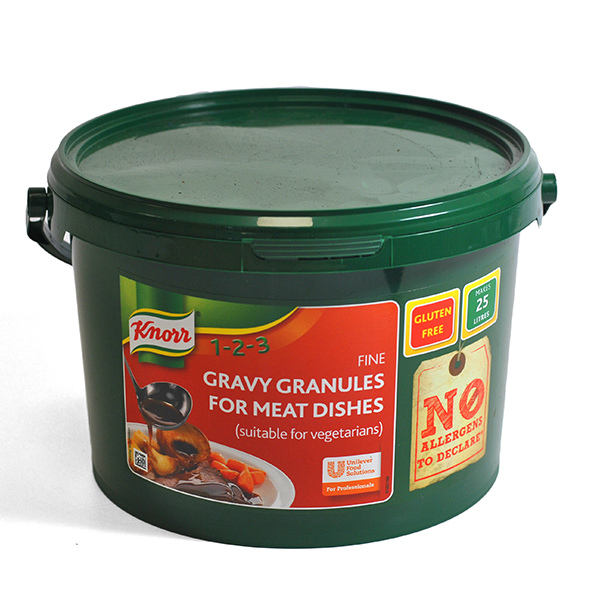 KNORR GRAVY GRANULES MEAT (25lt) 1.88kg