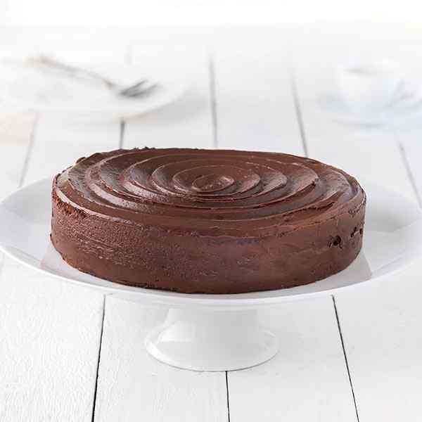 CHOCOLATE FUDGE CAKE  (23cm) 1x1Kg