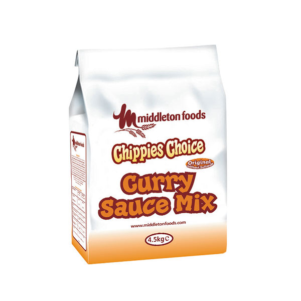 MIDDLETON CHIPPIES CHOICE CURRY SAUCE 4.5kg BAG
