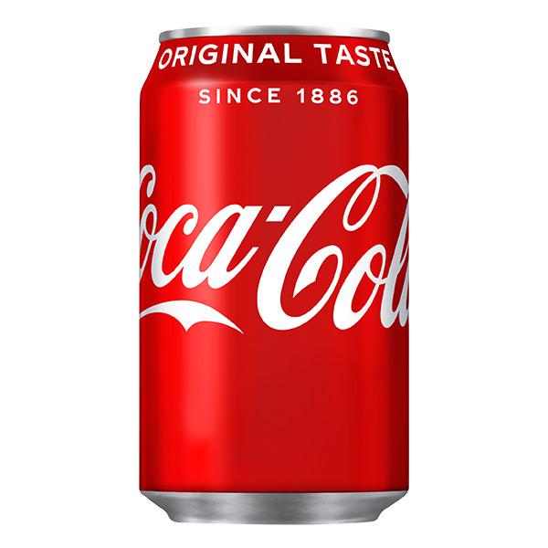 COCA COLA CANS ( COKE GB )  24 x 330ml
