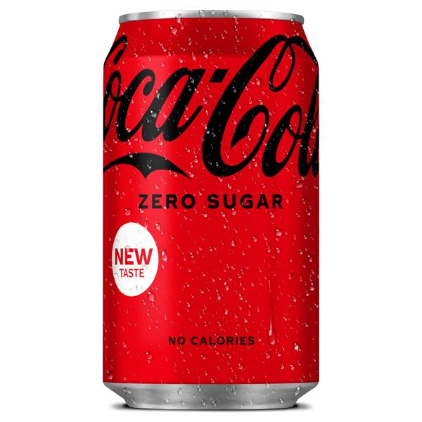 COKE ZERO CANS ( GB )  24 x 330ml