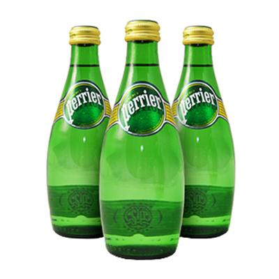 PERRIER WATER GLASS BOTTLES  24x330ml