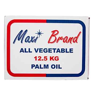 MAXI BRAND PALM OIL  1x12.5kg