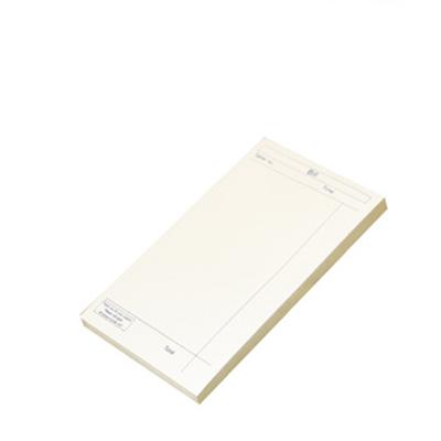 PRINTED SINGLE PAD BILL BOOK  40x100pg 80x145mm