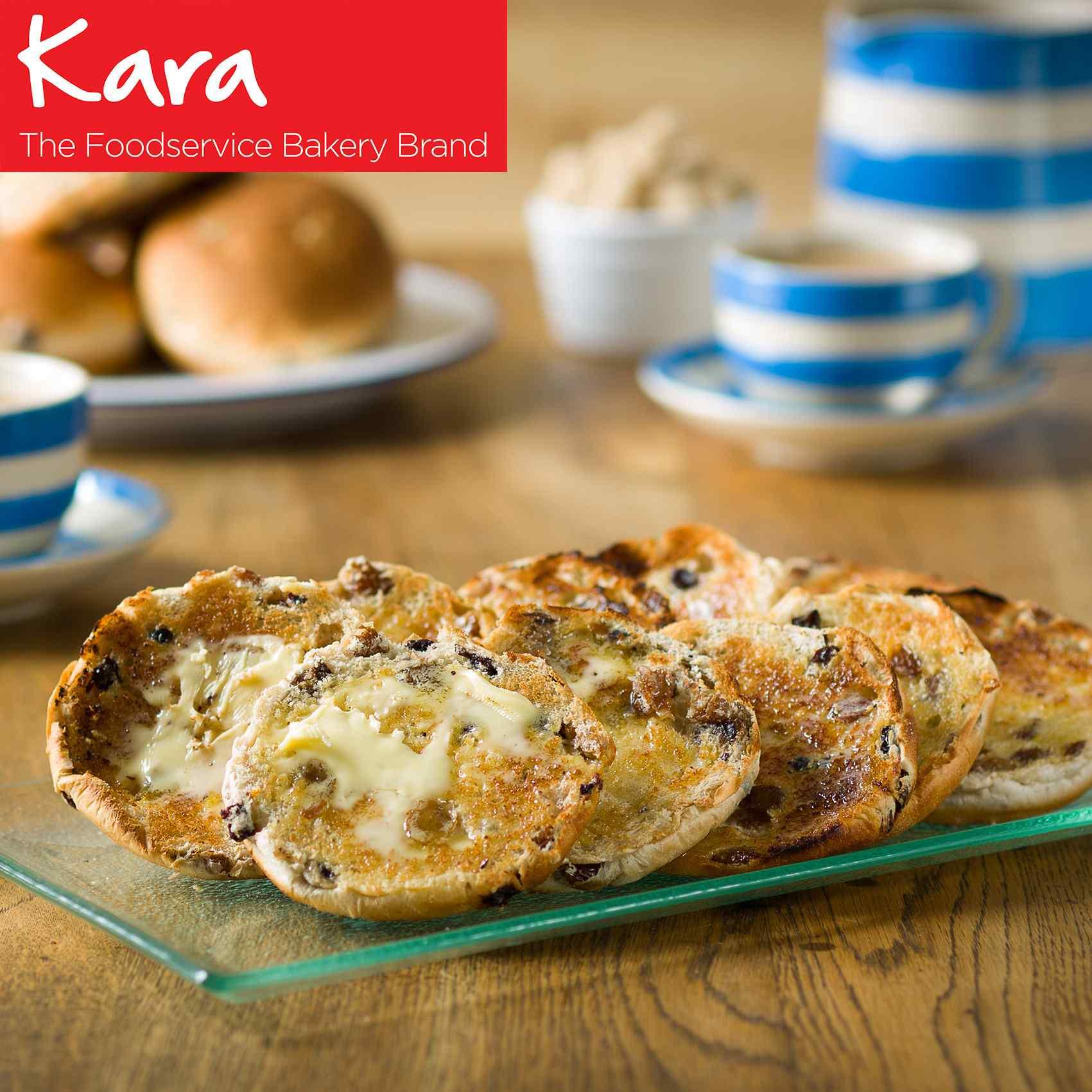 "5"" KARA TEA CAKES ( SPICED FRUIT)  1x48 PRODUCT CODE : F00273"