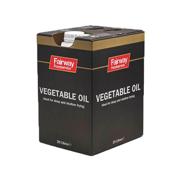 FAIRWAY VEGETABLE OIL IN BOX 1x20lt