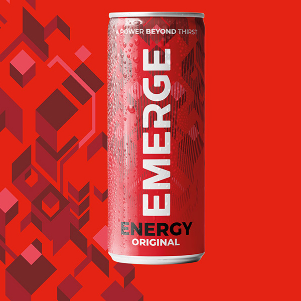 EMERGE ENERGY DRINK CANS 24x250ml