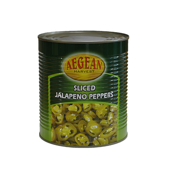 CAMBRAY GREEN SLICED JALAPENOS  1X 3kg