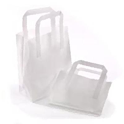 WHITE MEDIUM SOS BAG (8x13x10)  1x250 BLEACHED KRAFT 216 x 330 x 254mm SAP: 12639