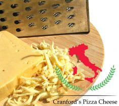 CRANFORD PIZZA CHEESE 80/20 TOPPING 6x1.8kg