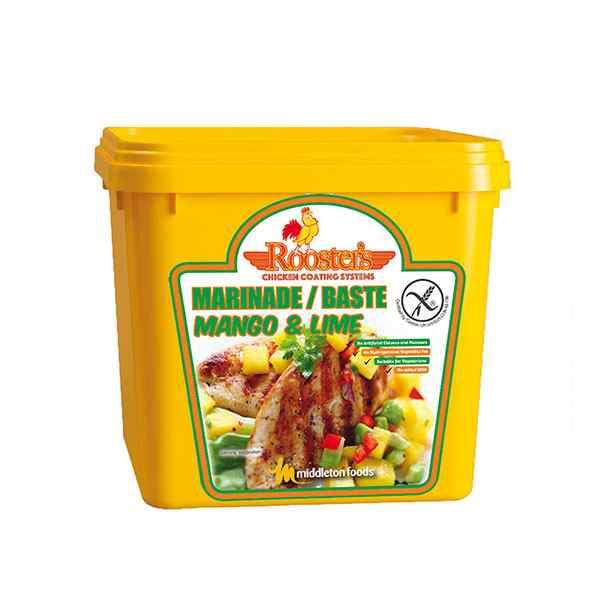 ROOSTER'S PIRI PIRI MANGO & LIME MARINADE BASTE TUB 2kg