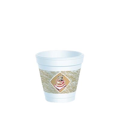"""CAFE """"G"""" ESPRESSO 4oz CUPS & LIDS 100's"""