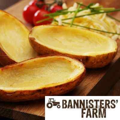 BANNISTERS FARM BAKED POTATO LONGBOATS 4x20
