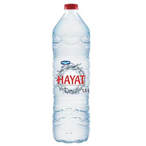 DANONE HAYAT SPRING WATER 6x1.5lt