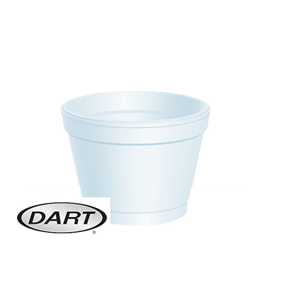4oz FOOD CONTAINERS ( DART 4J6 )  1x1000